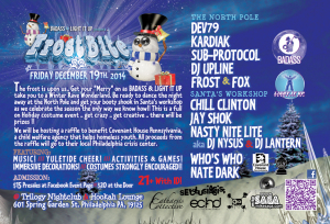 Frostbite- Hosted by Badass Raves & Light It Up @ Trilogy Nightclub | Philadelphia | Pennsylvania | United States